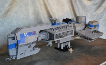 """In a galaxy, far far away..."" LEGO MOC Contest results"