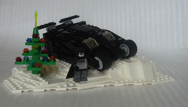 LEGO MOC - Герои и злодеи - Happy New Year, Bats!