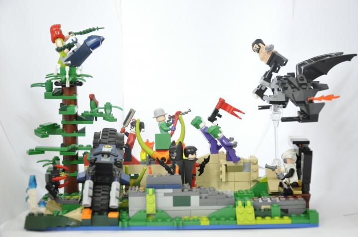 Лего злодеи марвел