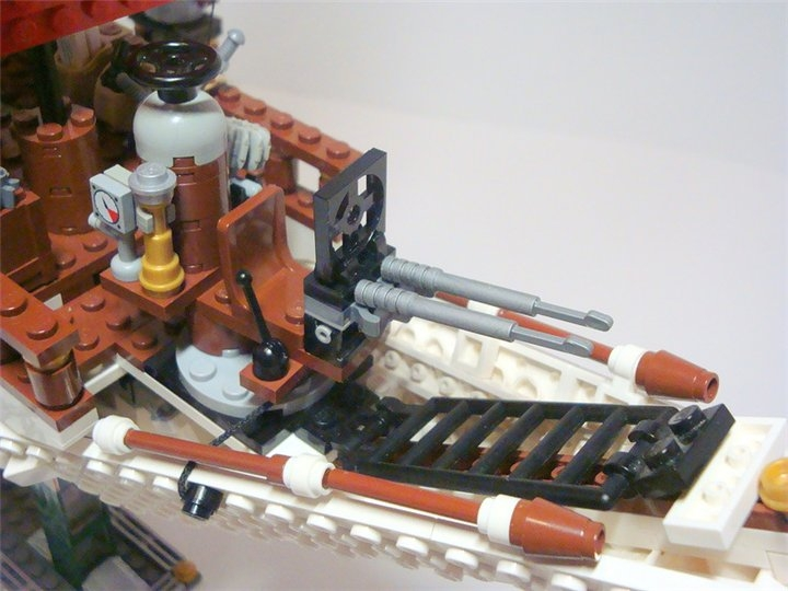 LEGO MOC - Steampunk Machine - «Алые паруса» в стиле Steampunk.: Место стрелка