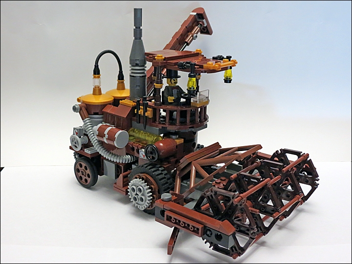 LEGO MOC - Steampunk Machine - Steampunk Harvester: SteamPunk Harvester - как же без него? :)