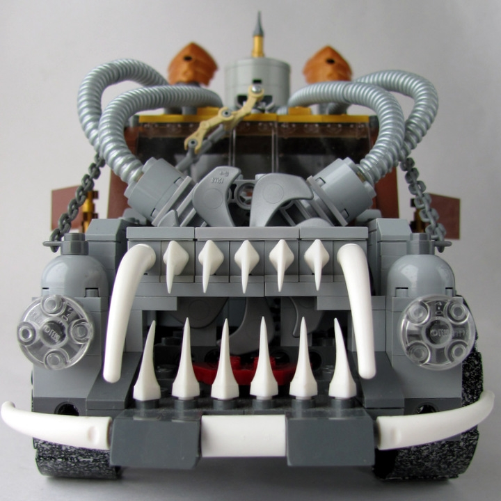 LEGO MOC - Steampunk Machine - Экскалибур: Или Вы её купите, или она будет являться Вам в Ваших кошмарах...<br />