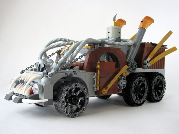 LEGO MOC - Steampunk Machine - Экскалибур