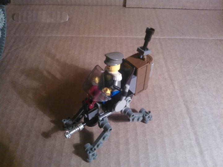 Как сделать робота военного из лего 528