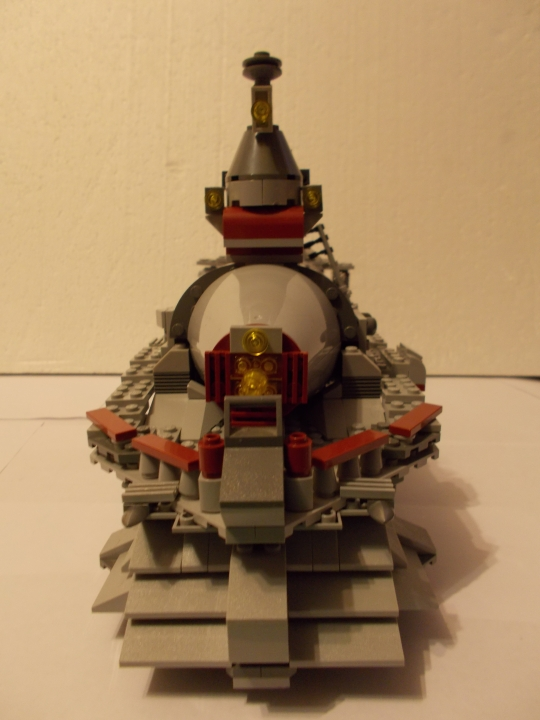 LEGO MOC - Steampunk Machine - Паровоз 'Red Revenge'
