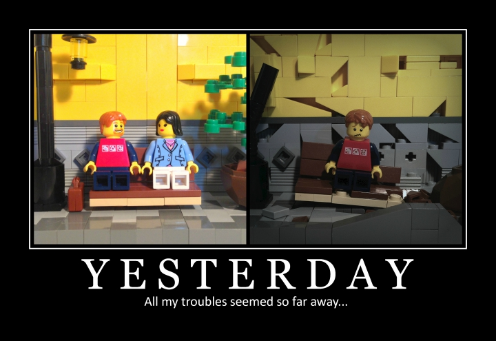 LEGO MOC - 16x16: Demotivator - Yesterday