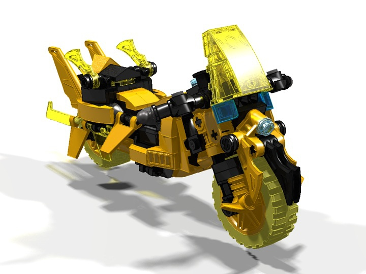 LEGO MOC - Мини-конкурс 'Lego Technic Motorcycles' - Motorcycle 'Wasp'