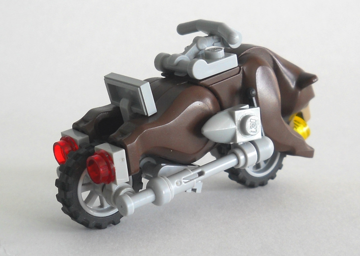 LEGO MOC - Мини-конкурс 'Lego Technic Motorcycles' - Мотоцикл 'Гризли'
