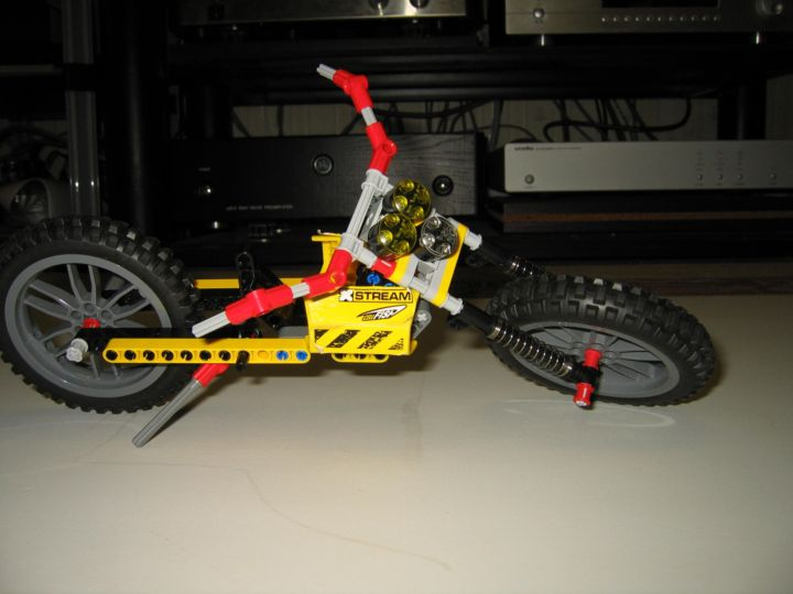 LEGO MOC - Мини-конкурс 'Lego Technic Motorcycles' - Лёгкий чоппер