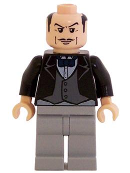 Bricker Минифигурка Lego Bat014 Alfred Pennyworth The