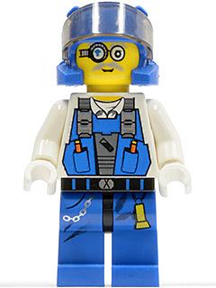 Bare Arms Minifig // Mini Figure LEGO 8708 Power Miners Duke
