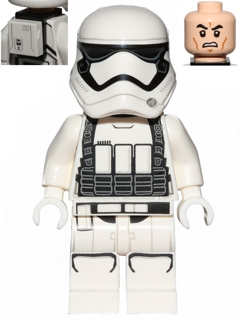 First Order Stormtrooper with backpack from 75178 LEGO Star Wars
