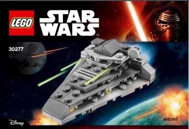 Lego star wars sets first order destroyer