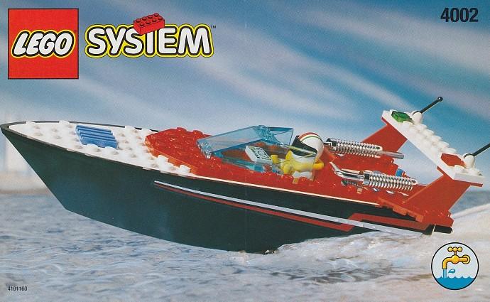 как из лего сделать моторную лодку