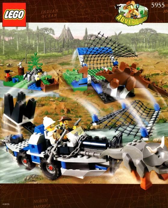 Adventurers (1998-2000, 2003) 5955_brickset