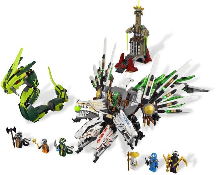 Bricker lego njo042 lord garmadon 4 arms - Ninjago les 4 armes d or ...