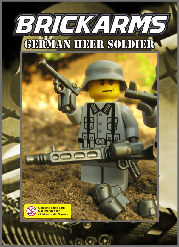 BrickArms_WW2_German_Heer_Sold