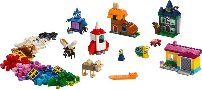 Lego 20 New Reddish Brown Windows 1 x 2 x 2 Flat Front Black Lattice Pattern