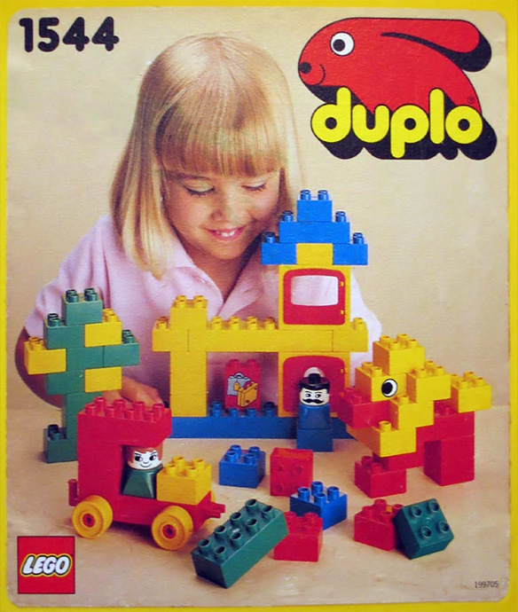 Bricker lego 1544 duplo building set for Modele maison lego duplo