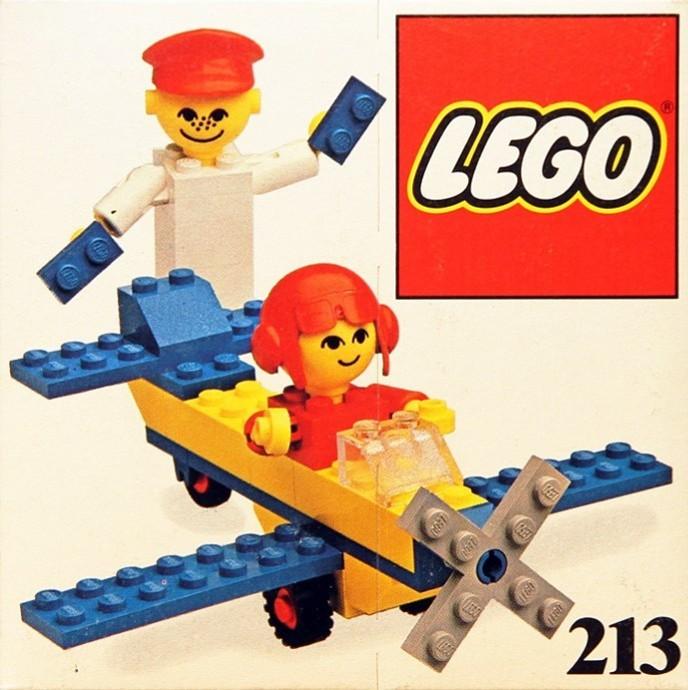 Bricker - Конструктор LEGO 213 Airplane ride