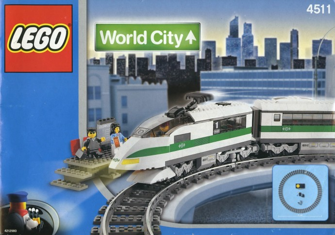 Lego 9V Railway TRAIN Light Prism Lamp Prism 4511