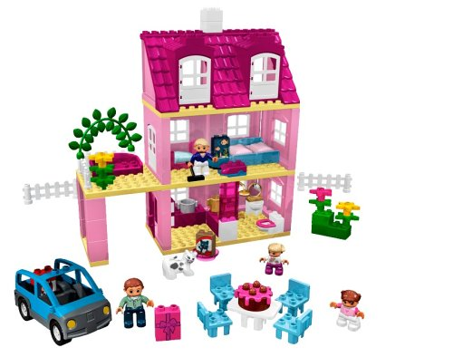 Bricker lego 4966 doll 39 s house for Modele maison lego duplo