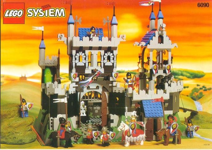 Лего рыцари замок инструкция схема