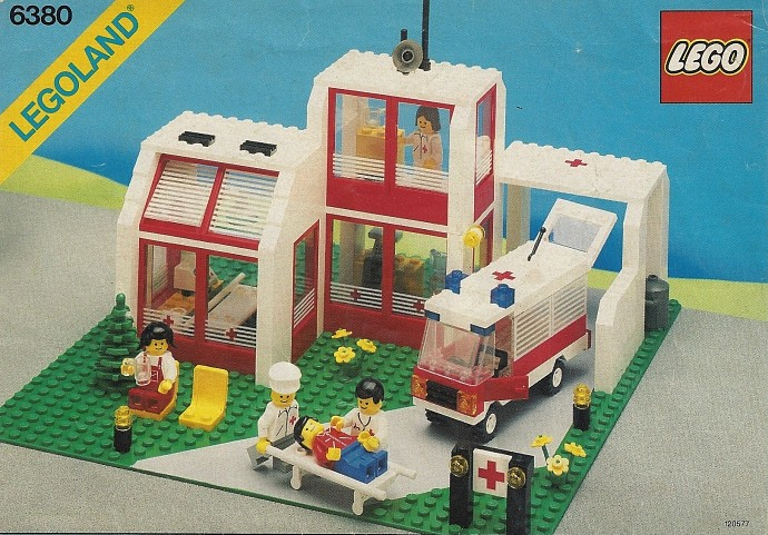 Bricker lego 6380 emergency treatment center for Classic house 90s