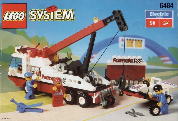 Bricker Konstruktor Lego 6484 Formula 1 Tehpomosh F1 Hauler