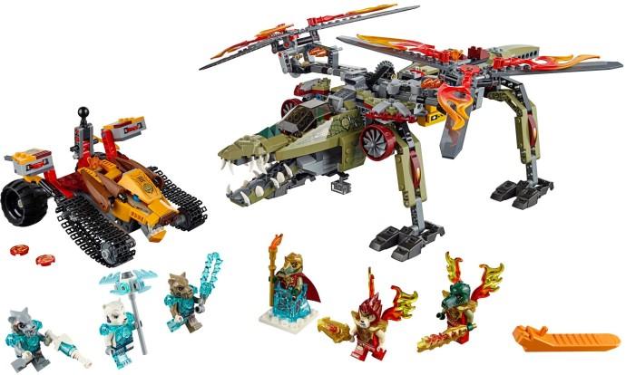 Lego 70227   Chima   King Crominus' Rescue   Lego 3D ...
