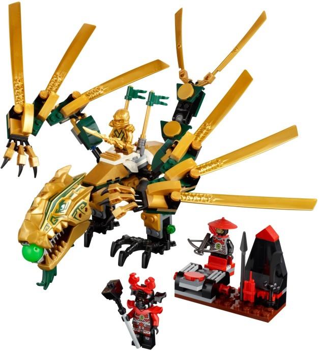 Bricker - Конструктор LEGO 70503 Золотой дракон (Golden Dragon)