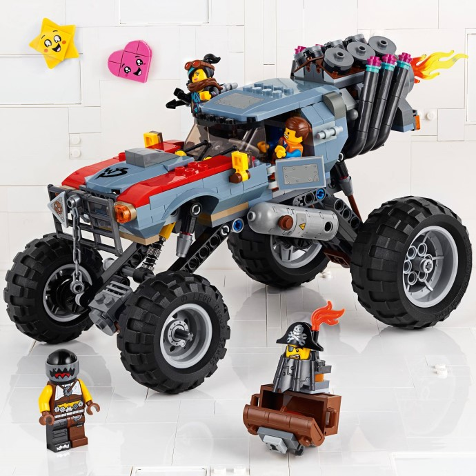 Lego 20 New Trans-Red Wave Rounded Large Flame with Marbled Trans-Yellow Parts