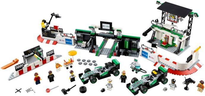 Bricker Конструктор Lego 75883 Formula 1 Mercedes Amg