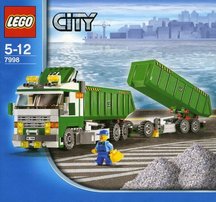 Bricker Конструктор Lego 7998 Классический грузовик