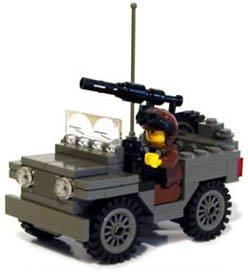 MECHANIZED BRICK_jeep