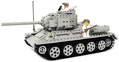 MECHANIZED BRICK_t34
