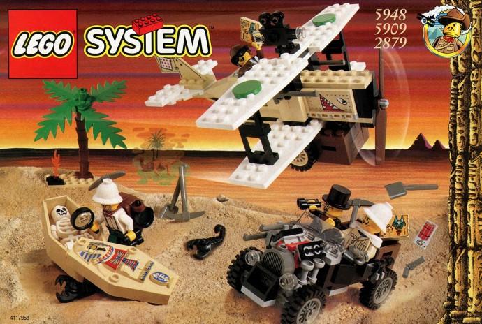 Bricker - Конструктор LEGO 5948 Экспедиция в пустыню (Treasure Raiders)