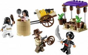 *NEW* Lego Minifig Indiana Jones CAIRO THUG White Outfit 7195